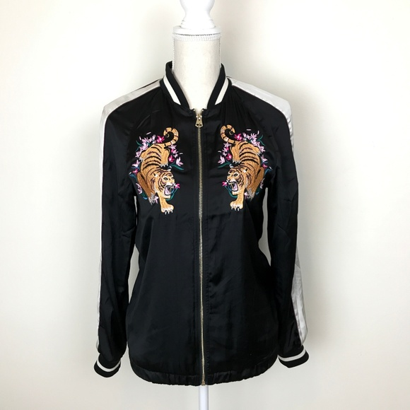 H&M Jackets & Blazers - H&M Tiger embroidered jacket